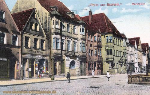 Bayreuth, Marktplatz