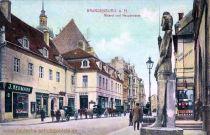 Brandenburg a. H., Roland und Hauptstraße