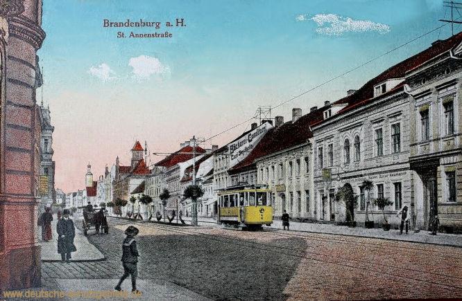 Brandenburg a.H., St. Annenstraße