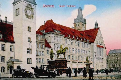 Chemnitz, Neues Rathaus