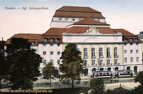 Dresden, Königliches Schauspielhaus
