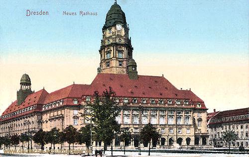 Dresden, Neues Rathaus