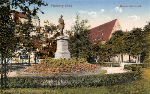 Freiberg, Bismarckdenkmal