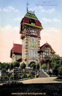Hof i. B., Restaurant Theresienstein