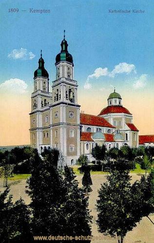 Kempten im Allgäu, Katholische Kirche