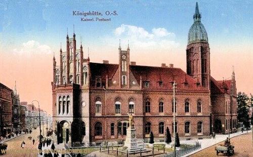 Königshütte O.-S., Kaiserliches Postamt