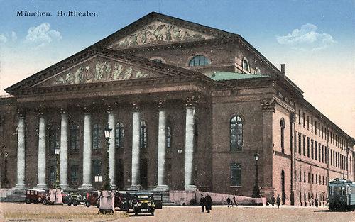 München, Hoftheater