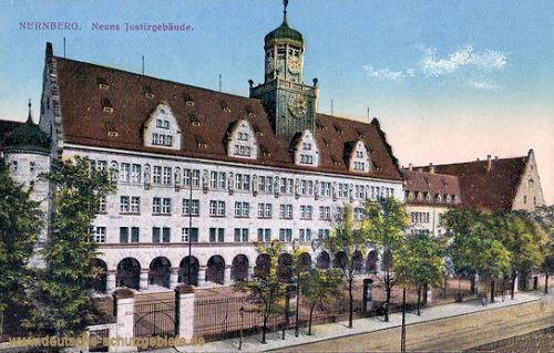 Nürnberg, Neues Justizgebäude