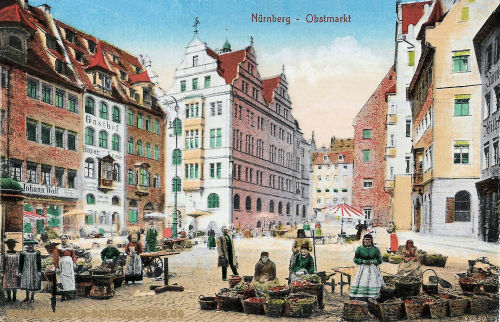 Nürnberg Obstmarkt