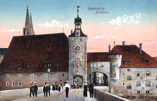 Regensburg, Brückentor