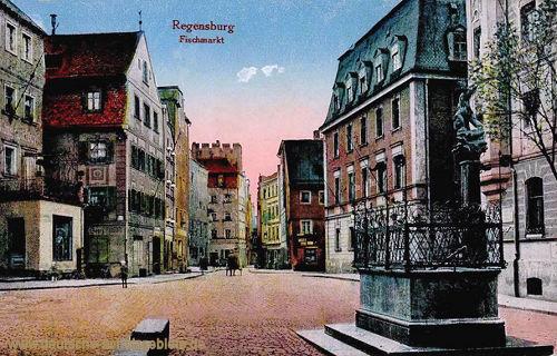 Regensburg, Fischmarkt