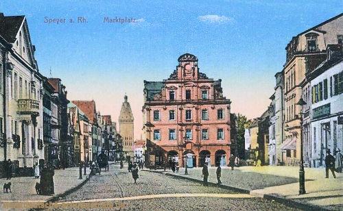 Speyer, Marktplatz