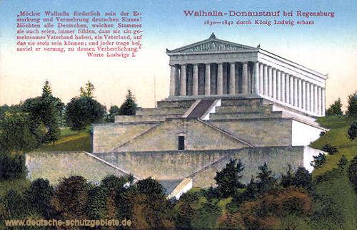 Walhalla-Donaustauf bei Regensburg