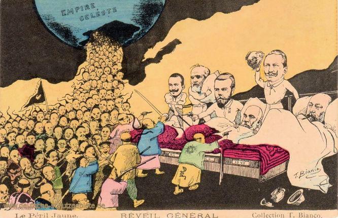 Boxeraufstand im Himmlischen Reich, allgemeines Erwachen (der europäischen Staatsoberhäupter)