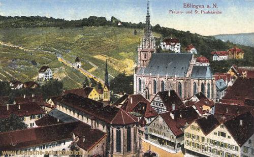 Eßlingen, Frauen- und St. Paulskirche