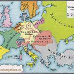 Europa nach dem Wiener Kongress 1815