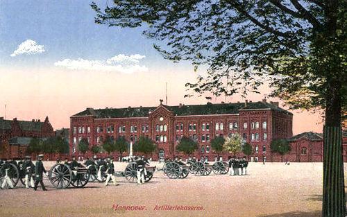 Hannover, Artilleriekaserne