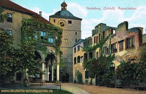 Heidelberg, Schloss, Ruprechtsbau