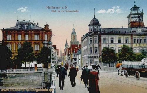Heilbronn, Blick in die Kaiserstraße