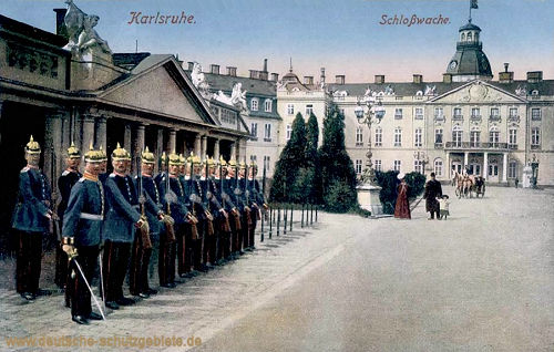 Karlsruhe, Schlosswache
