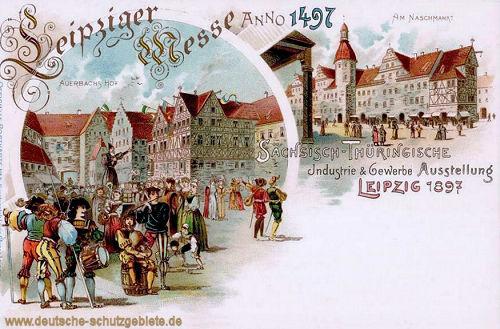 Leipzig, Auerbachs Hof, Am Naschmarkt