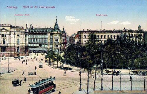 Leipzig, Deutsche Bank und Reichsbank