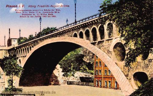 Plauen i. V., König Friedrich-August-Brücke