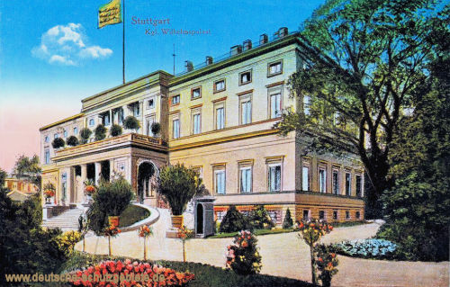 Stuttgart, Königliche Wilhelmspalast