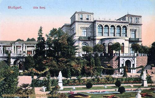 Stuttgart, Villa Berg