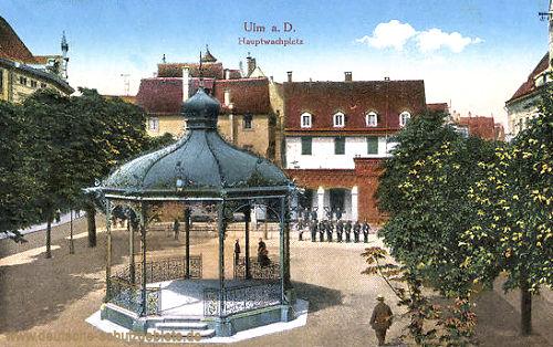 Ulm, Hauptwachplatz