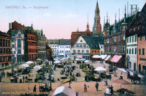Zwickau i. S., Hauptmarkt