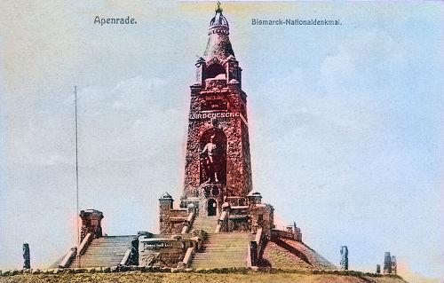 Apenrade, Bismarck-Nationaldenkmal