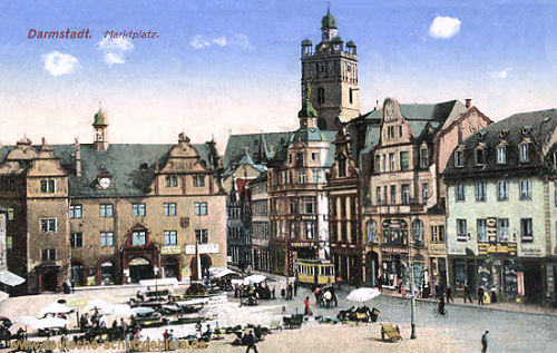 Darmstadt, Marktplatz