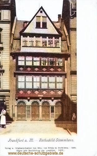 Frankfurt a. M., Rothschild-Stammhaus