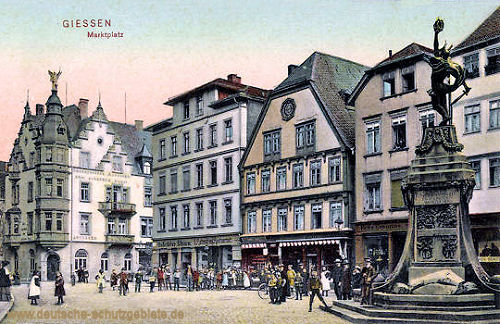Giessen, Marktplatz