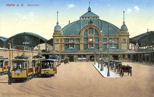 Halle. a. d. S., Bahnhof