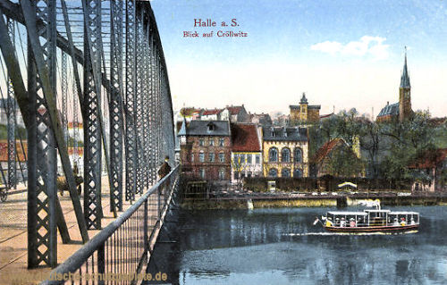 Halle. a. d. S., Blick auf Cröllwitz