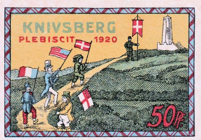 Knivsberg Plesbiscit 1920 (Notgeldschein)