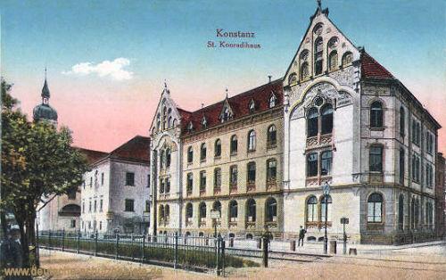 Konstanz, St. Konradihaus