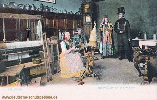 Lüneburg, Bauernstube aus dem Museum