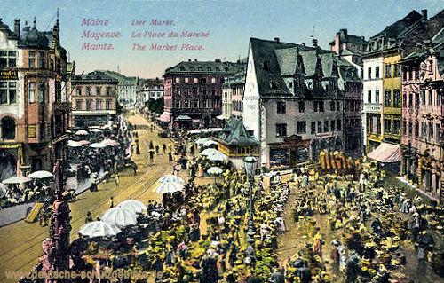 Mainz, Der Markt