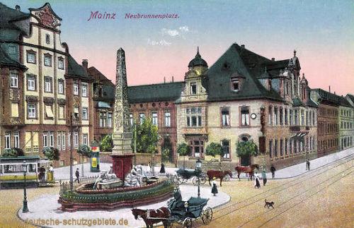 Mainz, Neubrunnenplatz
