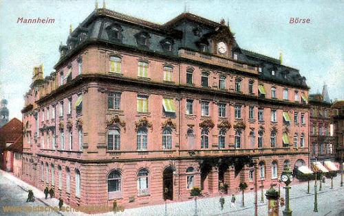 Mannheim, Börse