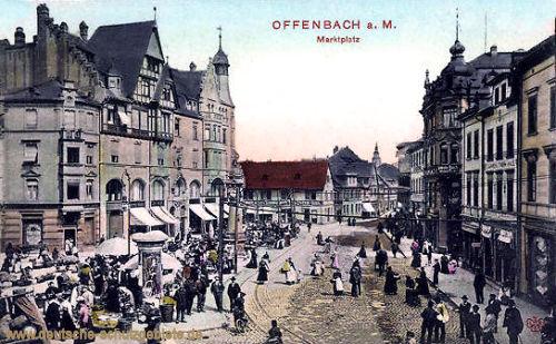 Offenbach am Main, Marktplatz