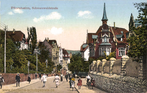 Pforzheim, Schwarzwaldstraße