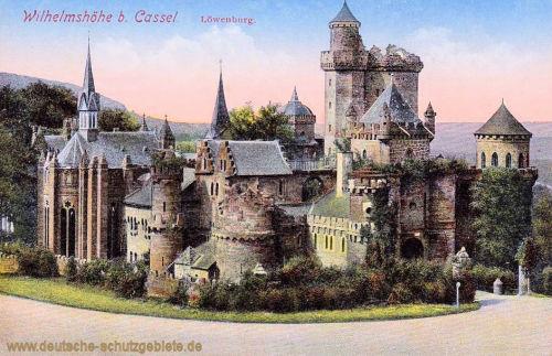 Wilhelmshöhe bei Kassel, Löwenburg