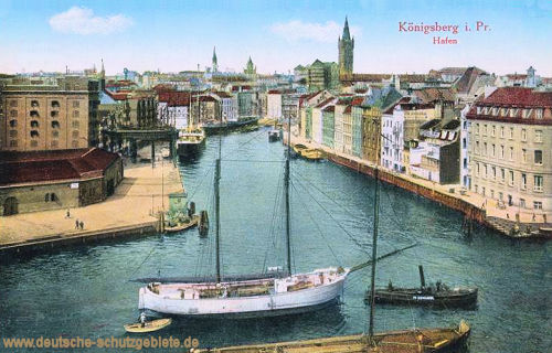Königsberg i. P., Hafen