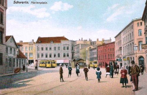 Schwerin, Marienplatz