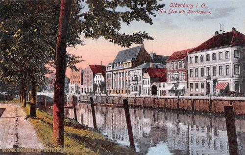 Oldenburg, Am Stau mit Landesbank