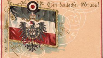 Flagge, Wappen und Kokarde des Deutschen Reichs